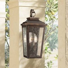 1028 best outdoor lighting images on pinterest appliques outdoor irvington manor 19 high bronze outdoor wall light 2n095 lamps plus mozeypictures Image collections