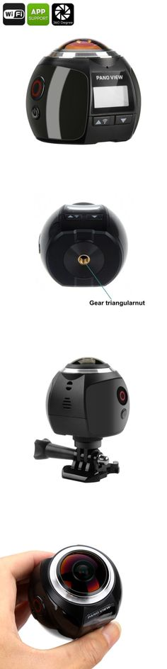 Other Wholesale Sporting Goods 26423: 360 Degree 4K Action Camera - 30M Waterproof, 220 Degree Fish Eye Lens, 16Mp, Fh -> BUY IT NOW ONLY: $107.93 on eBay!