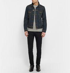 Saint LaurentStriped Cotton-Jersey T-Shirt