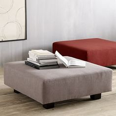 west elm's modern furniture sale helps make decorating easy. Save on a wide range of home decor and home furnishings. Ashley Furniture Sofas, Furniture Legs, Furniture Sale, Living Room Furniture, Living Room Seating, My Living Room, Upholstered Ottoman, Ottoman Cushions, Ottomans
