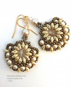 Pearl Fan Earrings