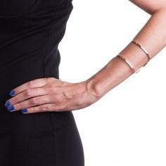 Bracelete Neo Metztli Dourado