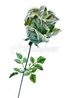 How to make a money rose pinterest money rose clever and gift the best dollar bill rose money origami flowers that are sure to please this mightylinksfo