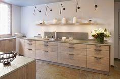 Cuisine : style maison de campagne en bois - Côté Maison