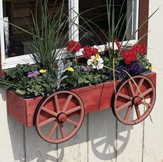Window Box Planter this would be easy to make yourself!