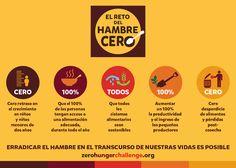 """WFP Español on Twitter: """"Descubre el Reto de #HambreCero en una ..."""