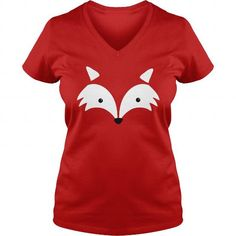 your family and friend:  Minimal Fox Face T Shirt Tee Shirts T-Shirts