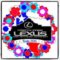 Our Fiesta Medal!  Pick one up at our Fiesta Trunk Show at Lexus Dominion April 16th!