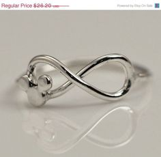 Wedding Sale Mickey Mouse Ring / gift box - Disney Ring - Disney Jewelry - Mickey Mouse Jewelry - Infinity Ring - Infinity Jewelry