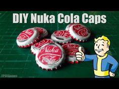 FPSXGames: How to Make Nuka Cola Bottle Caps