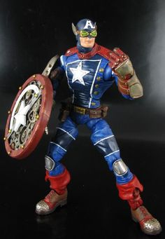 Steampunk Captain America (Marvel Legends) Custom Action Figure