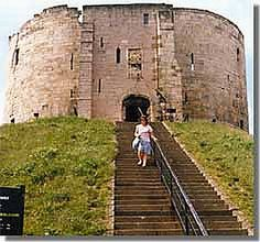 Cliffords Tower, York.