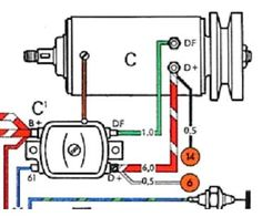 ELECTRIC L6 Engine Wiring Diagram Chevy 6 Pinterest