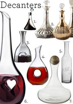 Wine Decanters So Many Lovely Options Which One Is Right For Your Favorite Missouri