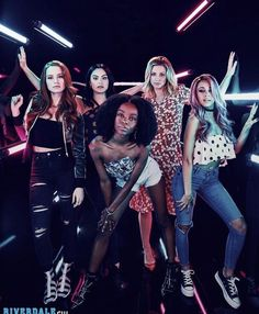 Madelaine Petsch, Camila Mendes, Ashleigh Murray, Lili Reinhart and Vanessa Morgan Kj Apa Riverdale, Riverdale Poster, Riverdale Netflix, Riverdale Cheryl, Riverdale Aesthetic, Riverdale Funny, Riverdale Memes, Riverdale Tv Show, Cast Of Riverdale