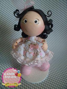 Atelie Crys Art's: boneca 3d