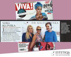 W naszej klinice wykonasz zabiegi z zakresu medycyny estetycznej i zrelaksujesz się w Day Spa! Poleca nas magazyn Viva!