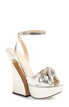 Charlotte Olympia 'Vreeland' Ankle Strap Sandal (Women) available at #Nordstrom