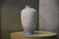 Japanese Fukugawa Pottery Vase – Edo Arts