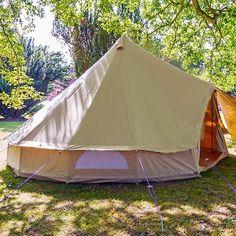 Boutique Camping 5m sandsten Bell telt med lynlås i underlagsdugen | Fruugo
