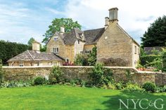 GALLERY An Exclusive Look at Sir Richard Branson's Family Getaway in the Cotswolds - New York Cottages & Gardens - December 2015 - New York, NY