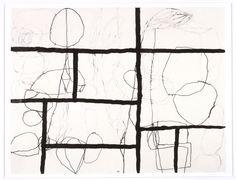 Jürgen Partenheimer, Copan, 2005, inkt en potlood op papier, 57 x 66 cm http://www.artistsbooks.be/artists/partenheimer.htm