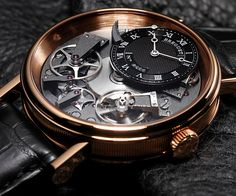 Breguet Tradition Automatic Skeleton Dial 18 kt Rose Gold Men's Watch Item No. 7057BR/G9/9W6. (List Price: HK$219,700). Discount to: HK$123,000.