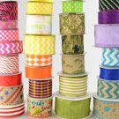 Discounted deco mesh, ribbon etc. Ribbon Crafts, Wreath Crafts, Diy Wreath, Wreath Ideas, Burlap Wreath, Wreath Making, Deco Mesh Ribbon, Fabric Ribbon, Deco Mesh Wreaths
