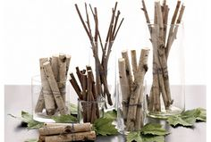Twig Decorating Ideas | During the holidays, everything seems to be rush-rush! It's as though ...