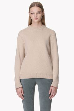 Eyelet detailed sweater