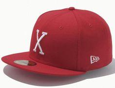 7a7d558b69e NEW ERA JAPAN「X」59Fifty Fitted Baseball Caps New Era Japan