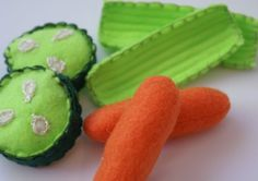 Carrot Sticks, Celery, Cucumber