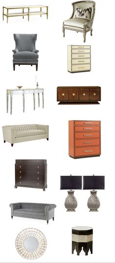 Not cheap, but gorgeous furniture!