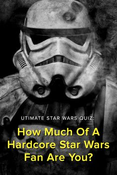 Ultimate Star Wars Quiz: How Much Of A Hardcore Star Wars Fan Are You? Do you really think you have what it takes to be labeled a TRUE HARDCORE obscure trivia Star Wars fan? Take this quiz and find out today!