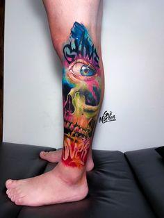 Tatuagem colorida: Joga mais cor que está pouco! - Blog Tattoo2me Watercolor Tattoo, Tattoos, Blog, First Tattoo, Color Tattoo, Colourful Art, Get A Tattoo, Pen And Wash, Colors