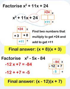 Algebra resources for teaching and learning mathematics. Algebra Worksheets, Maths Algebra, Math Tutor, Math Teacher, Math Classroom, Teaching Math, Math For Kids, Fun Math, Gcse Maths Revision