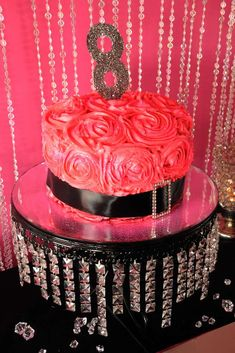 Glitz and Glam Birthday Party Ideas | Photo 3 of 20 | Catch My Party