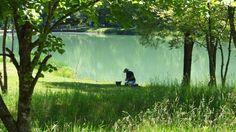Hagersee im Hagertal - yosemitebob Aquarium, Golf Courses, Camping Ideas, Cant Wait, Places, Fun, Outdoors, Beautiful, Goldfish Bowl