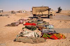 Gulf War. Guards Killed. 1991.