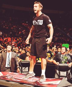 CM Punk 0_0...he's awesome!