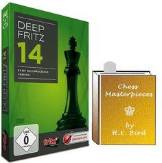 Deep Fritz 14 Chess Software Program & ChessCentral's Chess Masterpieces E-book (2 item Bundle)  http://www.bestcheapsoftware.com/deep-fritz-14-chess-software-program-chesscentrals-chess-masterpieces-e-book-2-item-bundle/