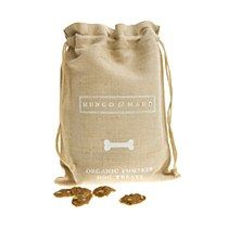 Organic Pumpkin Dog Biscuits in Bag - Mungo & Maud Dog and Cat Outfitters