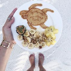 This could be the cutest breakfast I've seen, ever @ohhcouture #breakfastcriminals #breakfastwanderlust