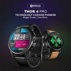 33c7c0ff3 eBay #Sponsored Zeblaze THOR 4 PRO 4G SmartWatch Quad Core 16G Hybrid  Leather Straps Smart
