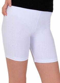 MARIANNE | Marseille katoenen shorts wit | Nu 10% korting! - soshin.nl Bermuda Shorts, Gym Shorts Womens, Leggings, Sport, Fashion, Marseille, Moda, Deporte, Fashion Styles
