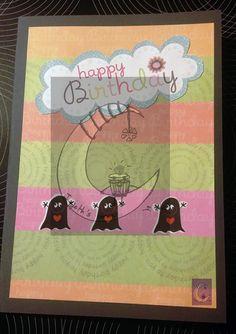 Postal de cumpleaños. 6€