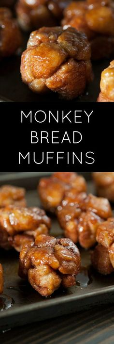 Delicious Monkey Bread Muffins are easy to make with refrigerated biscuits!  They are a single serving alternative to Monkey Bread in muffin form!