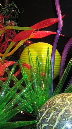 IMG_1792 by Diane Silveria, via Flickr  Chihuly Garden & Glass  Seattle