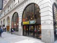 Potbelly. Maybe I shouldn't be so excited to visit a chain restaurant while in NYC... but they don't have these in GA.
