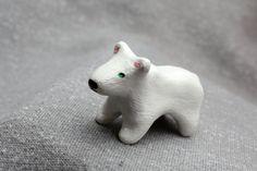 January  Polar Bear Totem by WildwoodCeramics on Etsy
